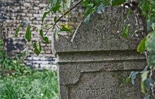 Gyón (Dabas) zsidótemető
