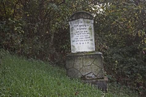 Dubicsány zsidótemető