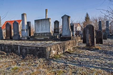 Izraelita temetők: Sándorfalva